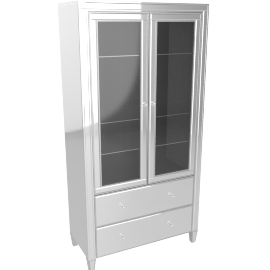 New Domino Bar Curio Cabinet