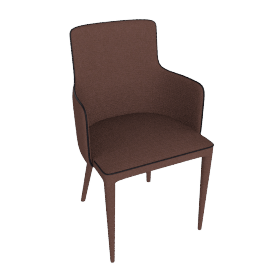 danform - MARS ARMCHAIR, brown