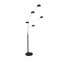 Senk Floor Lamp, Black