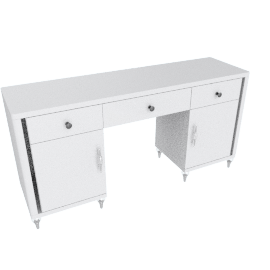 Celestia 3-Drawer 2-Door Dressing Table