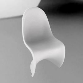 Panton S Chair, White