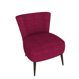 Twiggy Chair, Brecsia Fushia