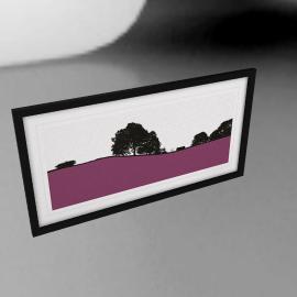 Jacky Al-Samarraie - Hawkshead Framed Print, 44 x 84cm