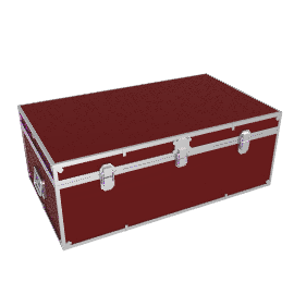 Fortified Hand Trunk, Burgundy
