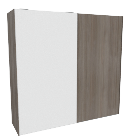 Giorgia 2-Door Sliding Wardrobe