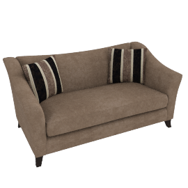 LUCCA MEDIUM SOFA, Grace Mocha