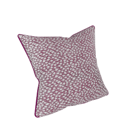 Chicago Jazz Filled Cushion - 45x45 cms, Pink