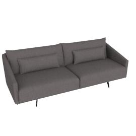Costura Sofa, Stone, Linen Weave