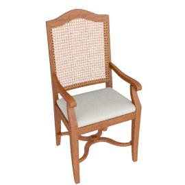 Hemingway Cane Carver Chair