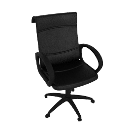 Samo Leather Desk Chair