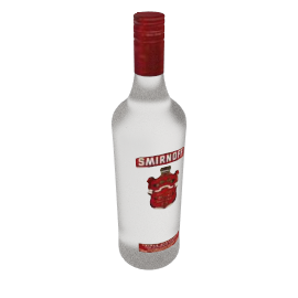 Smirnoff Grain Vodka, Red Label, 1 Litre