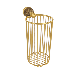 Catalufa Wall Mounted Toilet Roll Storage basket