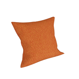 Melange Filled Cushion - 45x45 cms, Brown