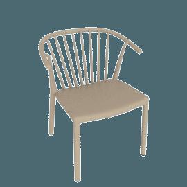 Woody Armchair, Sand