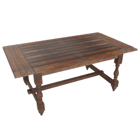 Agnora 6-Seater Dining Table - 183x102 cms