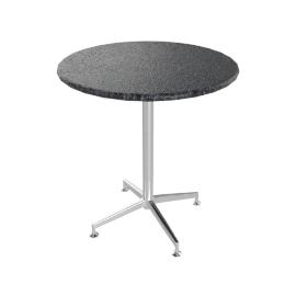 Brigitte Granite Dining Table, Nero Bon Accord