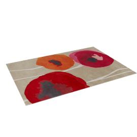 Sanderson Poppies Rug L200 x W140cm