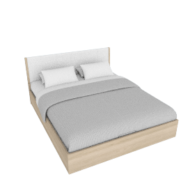 Heidi Bed with Hydraulic Storage - 180x210 cms