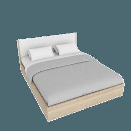 Heidi Bed with Hydraulic Storage - 180x210 cms