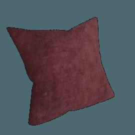 Plain Velvet Cushion, Fig