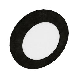 Modular Lighting Doze Round, white structured
