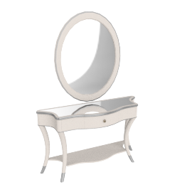 Ashby Console with Mirror