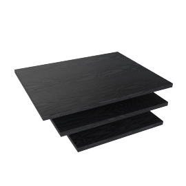 Blend Nest of Table Top, Black