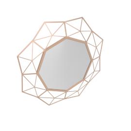 Kinkony Wall Mirror 43.5X4Cm/71X4X71Cm-Gold