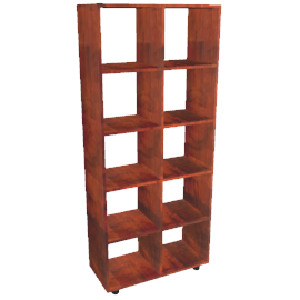 Stowaway Double Bookcase