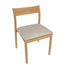 Terassi Side Chair, Papyrus