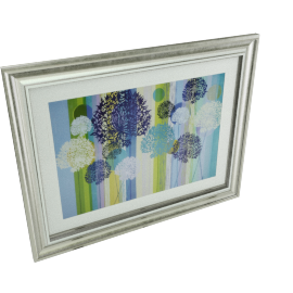 Lilac Allinum Framed Picture - 78.5x2x61.5 cms