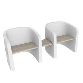 TALEA BENCH by PLUST