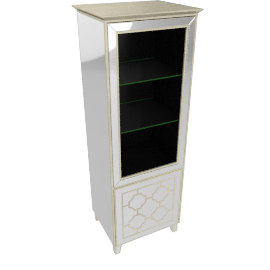 Casablanca Two Door RHS TV Display Cabinet