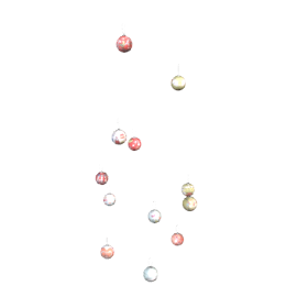 12 Days of Christmas Bauble Set