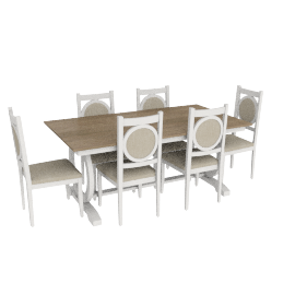 Bradford 6-seater Dining Set