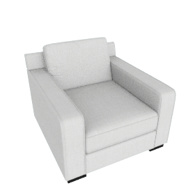 Porter Arm Chair, Light Beige