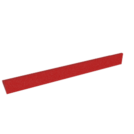 Briley Wall Shelf, Red