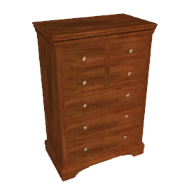 Normandie 8 Drawer Tall Chest