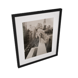 Getty Images Gallery Marilyn Monroe on Roof Framed Print, 57 x 50cm