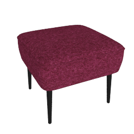 Jersey small footstool
