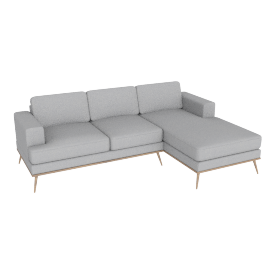 Hoffman Chaise End Sofa