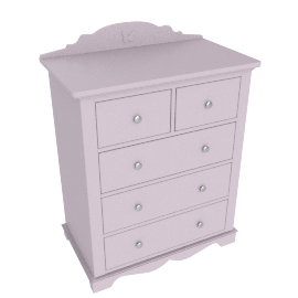Isabelle 5 Drawers Chest