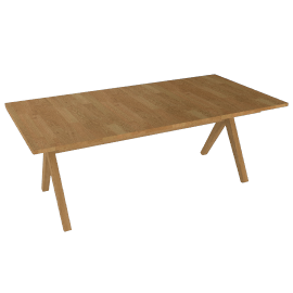 Bethan Gray for John Lewis Noah 6-8 Seater Extending Dining Table