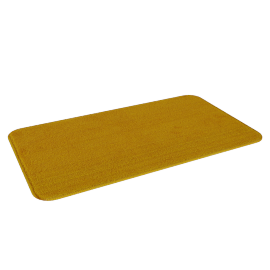 Clean Feet Bath Mat - 40x70 cms, Yellow