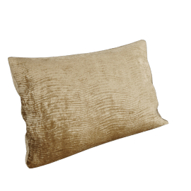 Harlequin Arkona Velvet Cushion, Natural