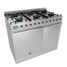 Britannia Range Cooker, Stainless Steel/Chrome, SI-10T6-SLX-S
