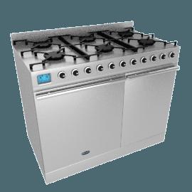 Britannia Range Cooker, Stainless Steel/Chrome, SI-10T6-SLX-S