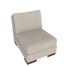 Signature 1 Seater Armless, Sand