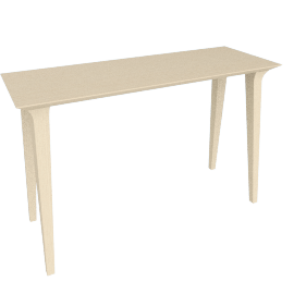 Lau Console Table, Natural Ash