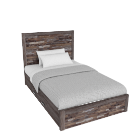 Salvage Bed with Drawer - 120x200